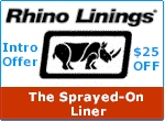 Rhino Linings - TThe Sprayed-On Liner
